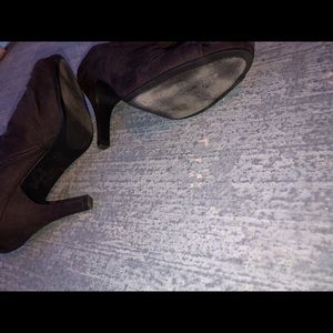 Rampage Shoes - Dark brown heels